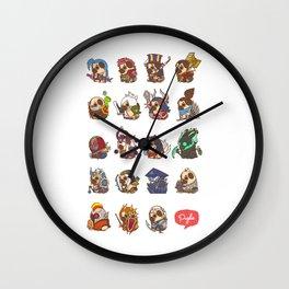 Puglie LoL Vol.1 Wall Clock