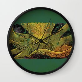 Kraken Rising Wall Clock