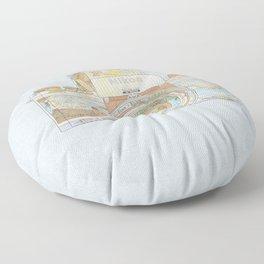 TRAVEL NIK0N Floor Pillow