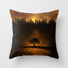 underground energy Throw Pillow