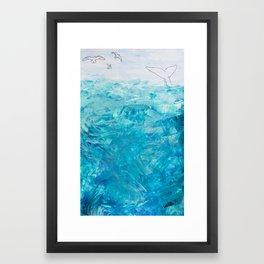 TheBigBlue Framed Art Print