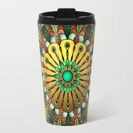 Metallic Mandala Travel Mug