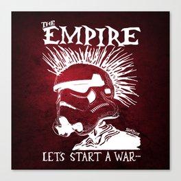 Sithfits - Let's Start A War... Canvas Print