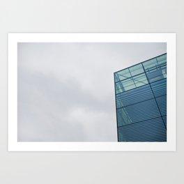 Sky Interrupted Art Print