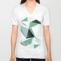 trip V-neck T-shirts featuring trip by .eg.