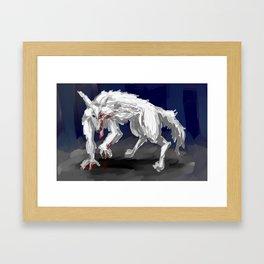 Mike Zoldyck Framed Art Print