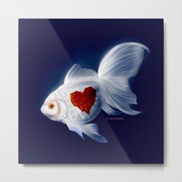 Fishy Knows It Best Metal Print