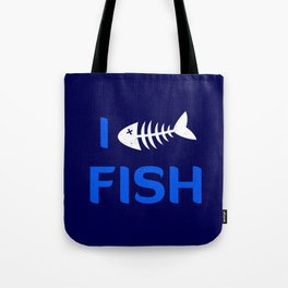 I heart Fish Tote Bag