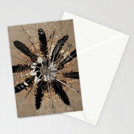 native vintage mandala Stationery Cards