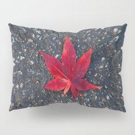 Red Leaf Pillow Sham