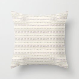 Background abstract pink pattern 4, vector, texture design. Throw Pillow