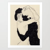 Art Prints featuring You Are The Theory In My Head by Kaethe Butcher