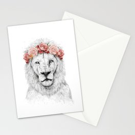 Festival lion Stationery Cards