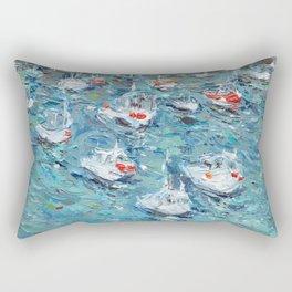 In the Harbor Rectangular Pillow