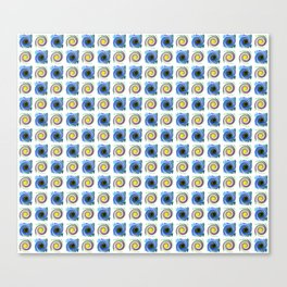 circle,Strudel Canvas Print