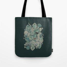 Hiding Behind Flowers Tote Bag