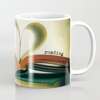 read Mugs featuring Read by Lawson Images