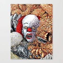 Horror mash Canvas Print