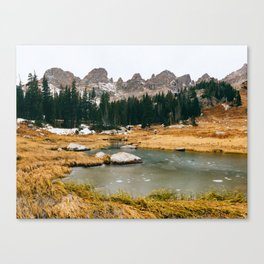 Gore Range – Rocky Mountains Canvas Print
