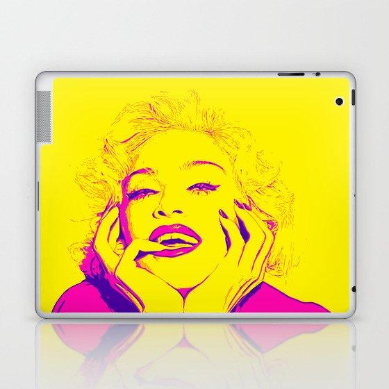 Bright Madonna Laptop & iPad Skin
