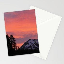 Soda Butte Sunrise Stationery Cards