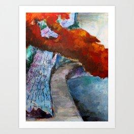 Fall Path Art Print