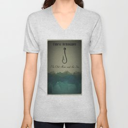 The Old Man and the Sea Unisex V-Neck