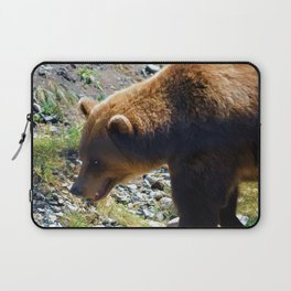 Griz - Wildlife Art Print Laptop Sleeve
