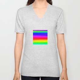 Rainbow Color S27 Unisex V-Neck