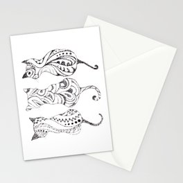 Trio of Cats Stationery Cards