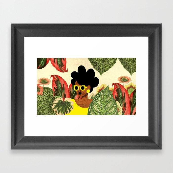 Bayou Girl II Gerahmter Kunstdruck