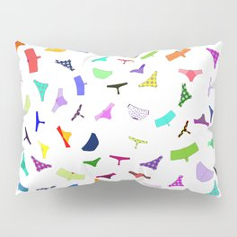 Colorful panties print Pillow Sham