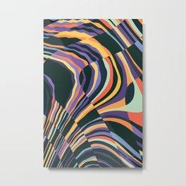 Fusion 8 Metal Print