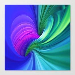 Twisting Forms #1 Canvas Print