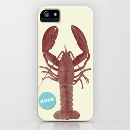 Rock Lobsta iPhone Case