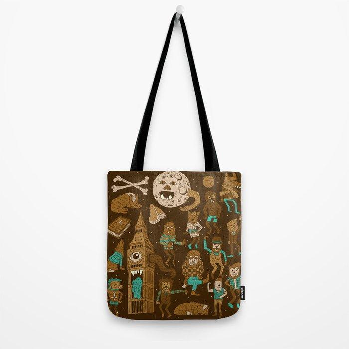 Wow! Werewolves!  Tote Bag