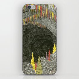 Color Cave iPhone Skin