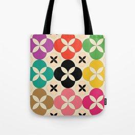 Geometric Flower #2 Tote Bag