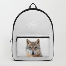 Wolf Portrait Backpack