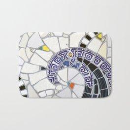 Blue Fandango Mosaic Bath Mat