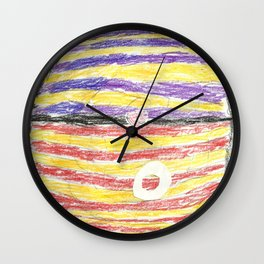 Superbowl Colors Wall Clock
