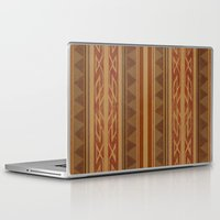 navajo Laptop & iPad Skins featuring Navajo  by Terry Fan