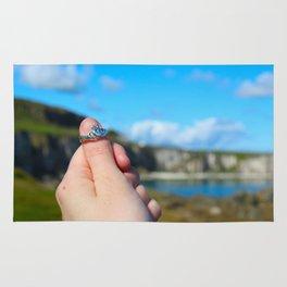 Claddagh Ring in Ireland Rug