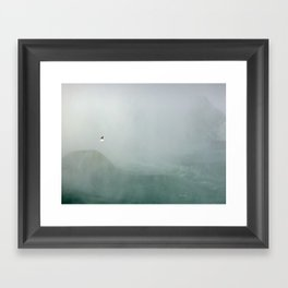 Misty Winged Framed Art Print