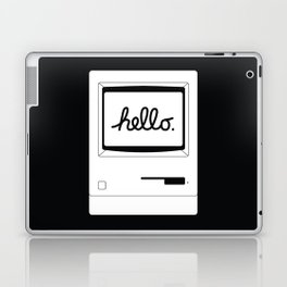 Hello World Back Laptop & iPad Skin
