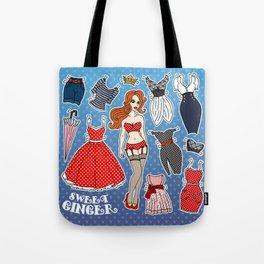 Sweet Ginger Tote Bag
