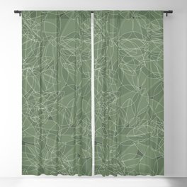 Nature (leaves pattern) Blackout Curtain