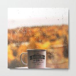 Autumn Mug Metal Print