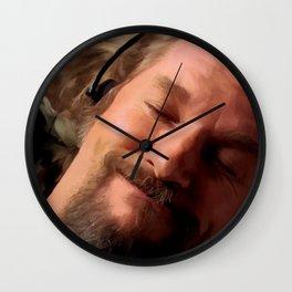 Jeff Bridges as The Dude Wall Clock