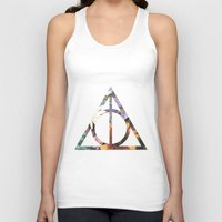 deathly hallows Tank Tops featuring Deathly Hallows by Romana Catalini